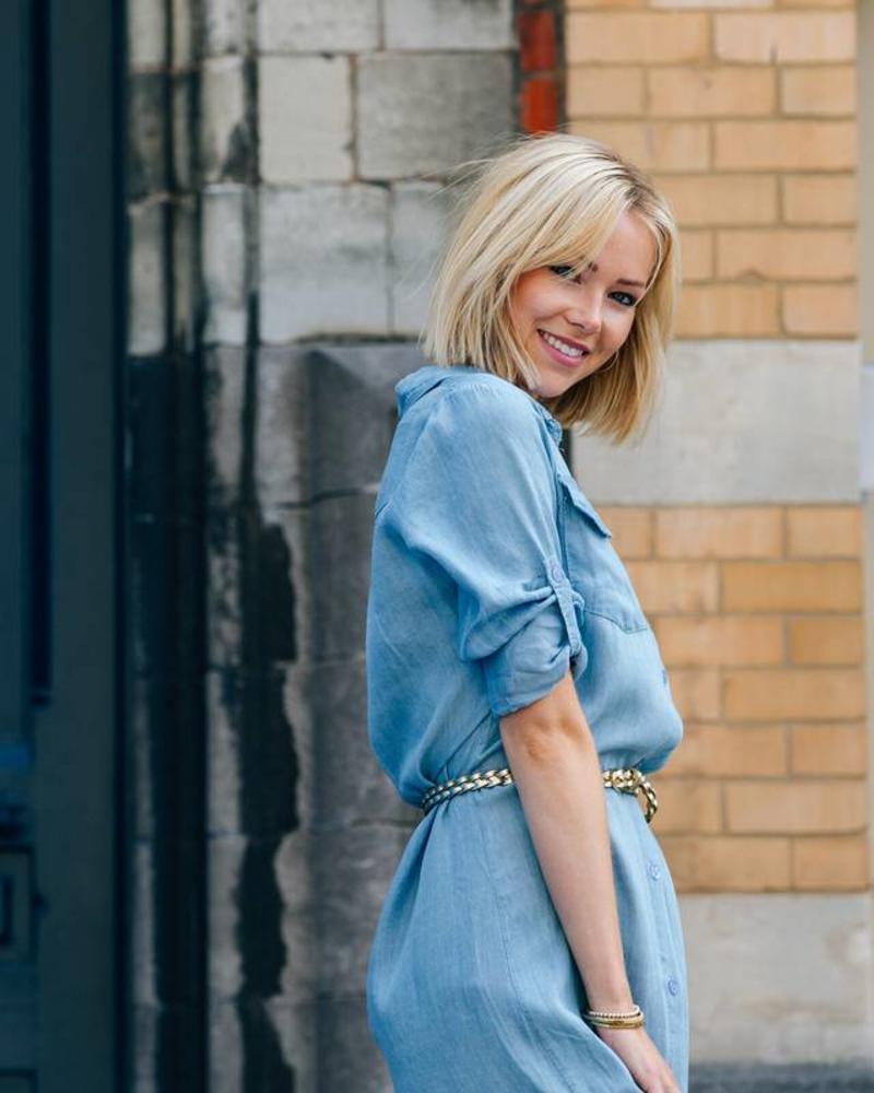 Maxi Dress Blue