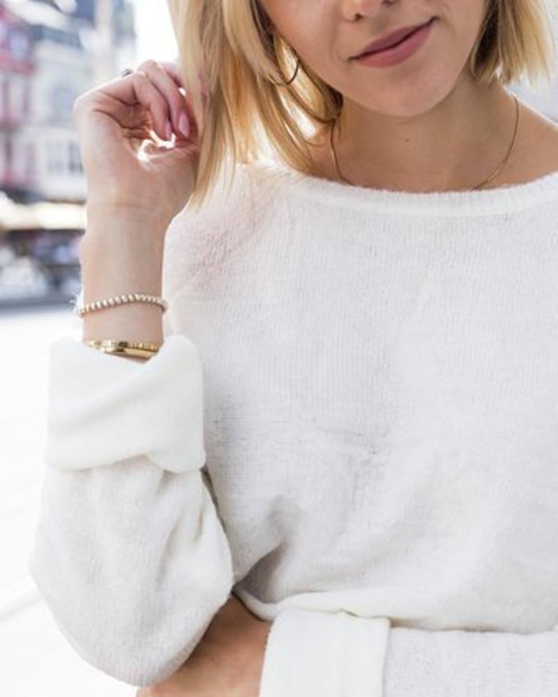 Musthave Sweater White