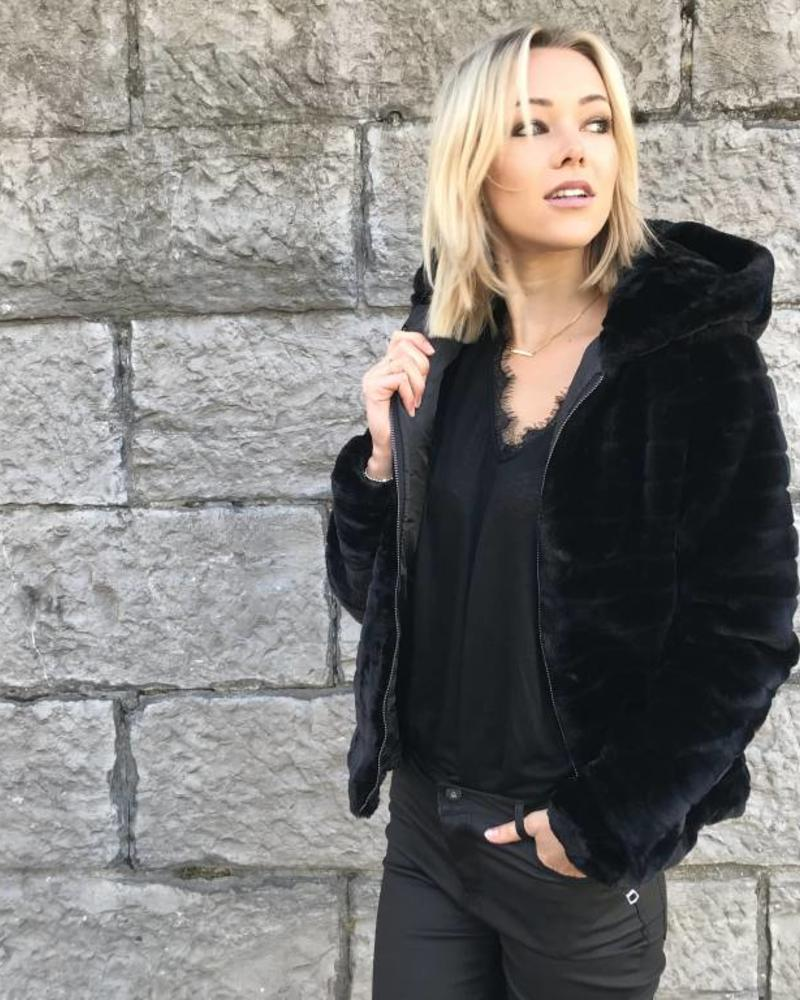 Cosy Jacket Black