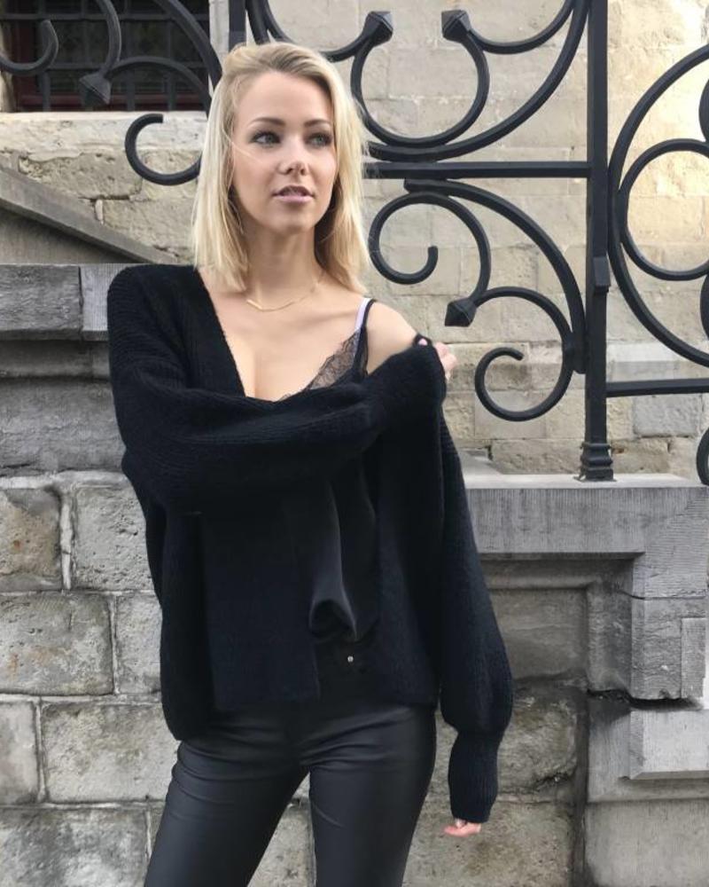 Short Comfy Vest Black