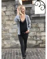 Short Comfy Vest Grey