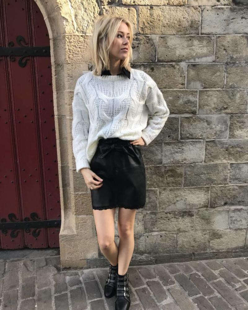 White Cosy Sweater