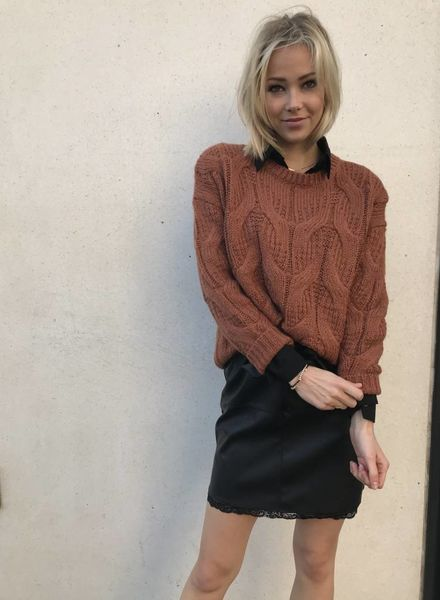 Camel Cosy Sweater