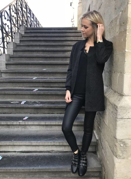 Fall Soft Vest Black