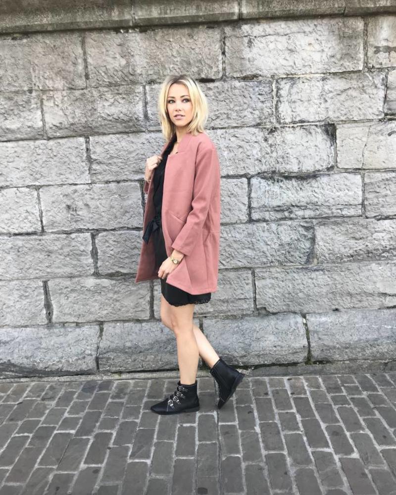 Fall Soft Vest Blush
