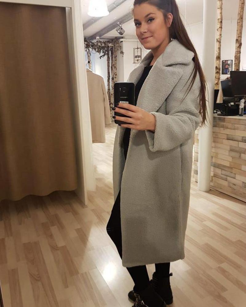 Teddy Maxi Coat
