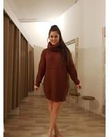 Sweaterdress Brique