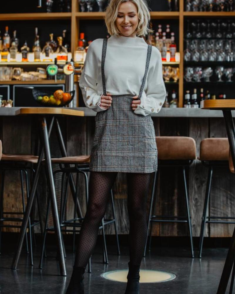 White Basic Sweater