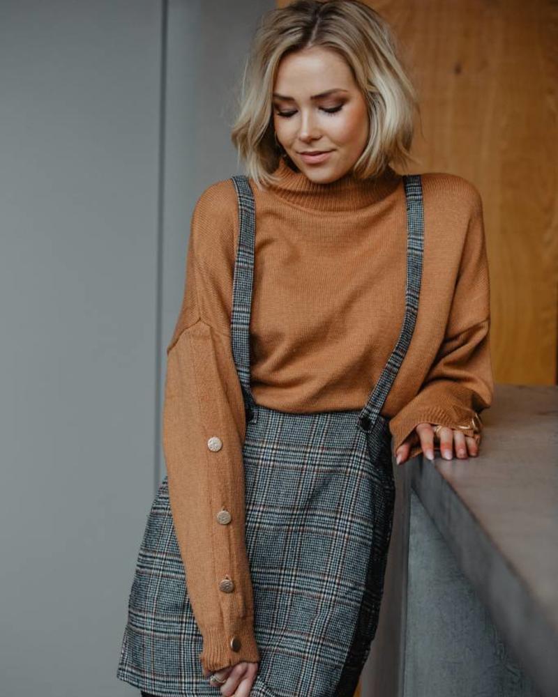 Cognac Basic Sweater
