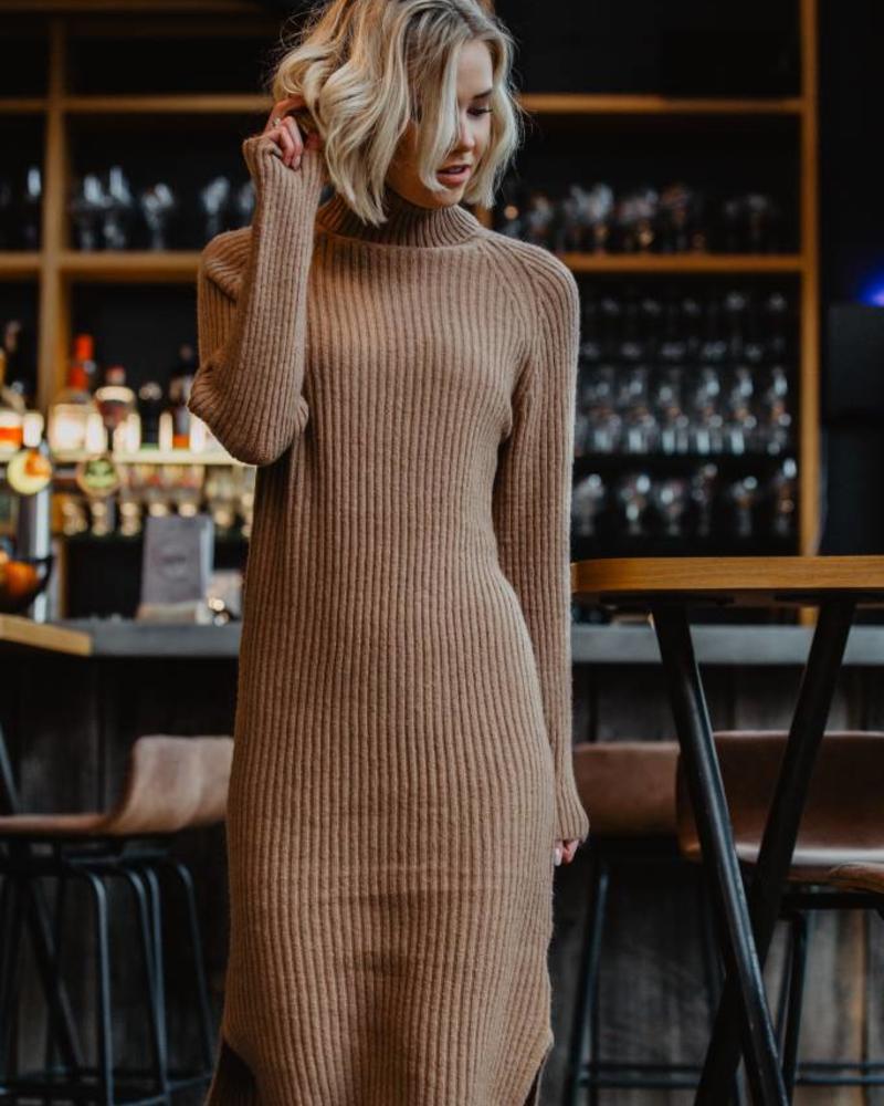 Streetstyle Dress Camel