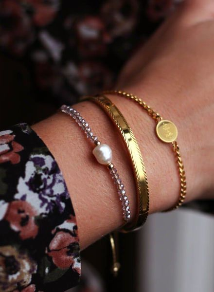 Armband Bedel Roos
