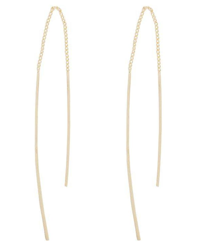 Rebel Chain Earrings