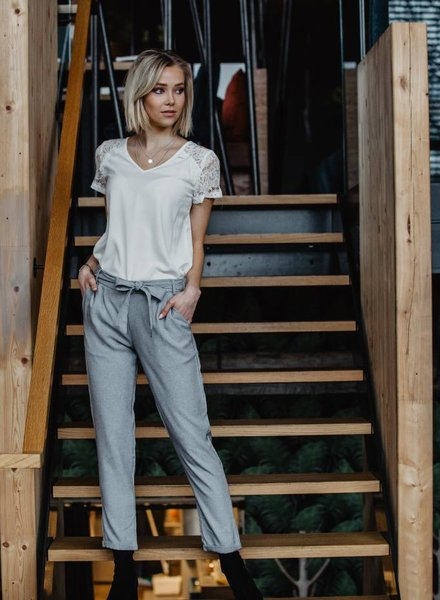 Comfy Chic Pants Grey