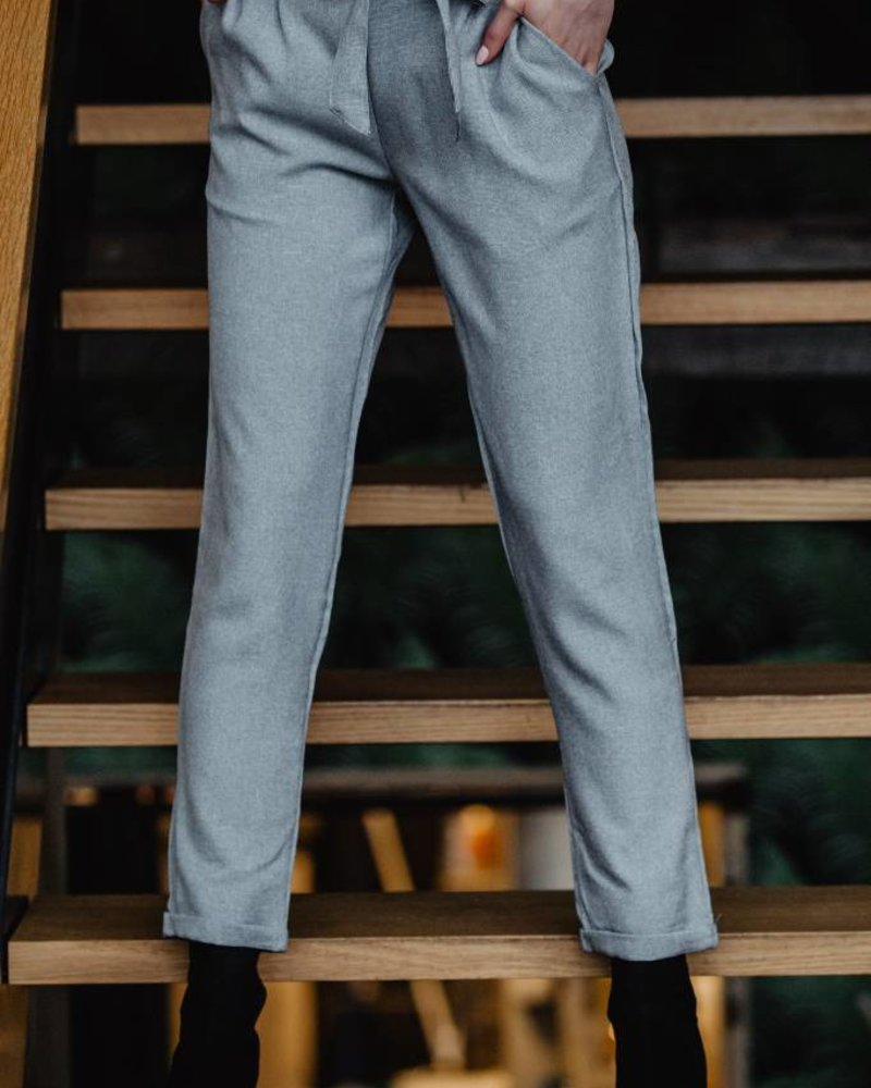 Comfy Chic Pants Grey