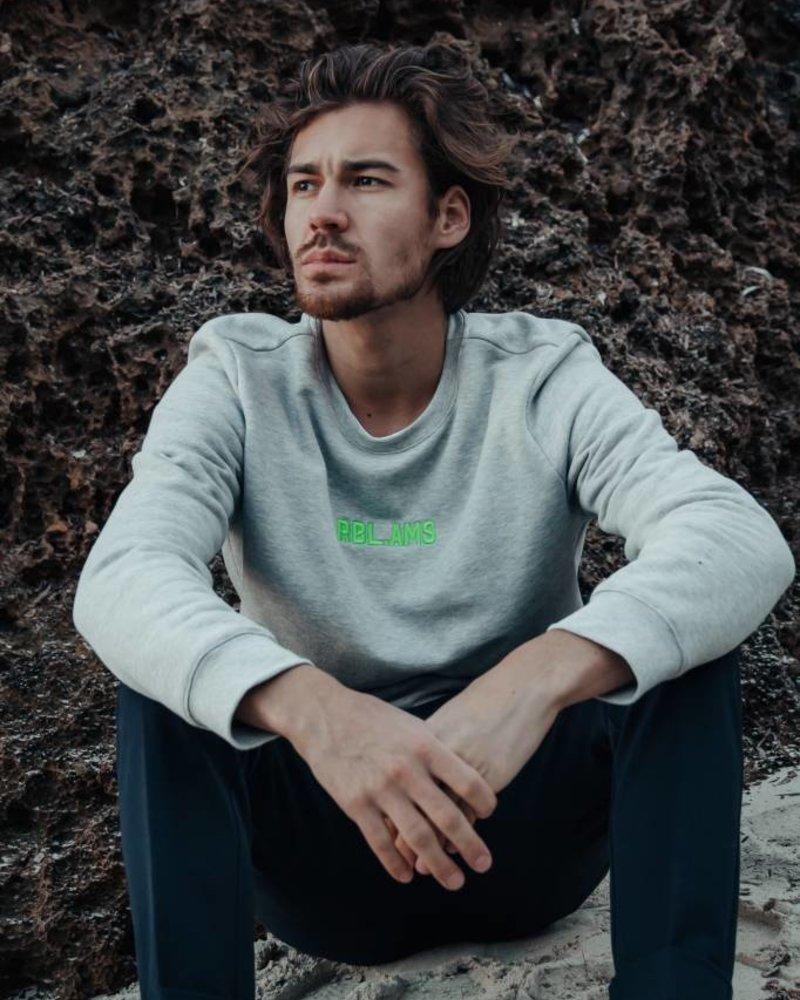 Basic Sweater Men RBL.AMS Oxford Grey