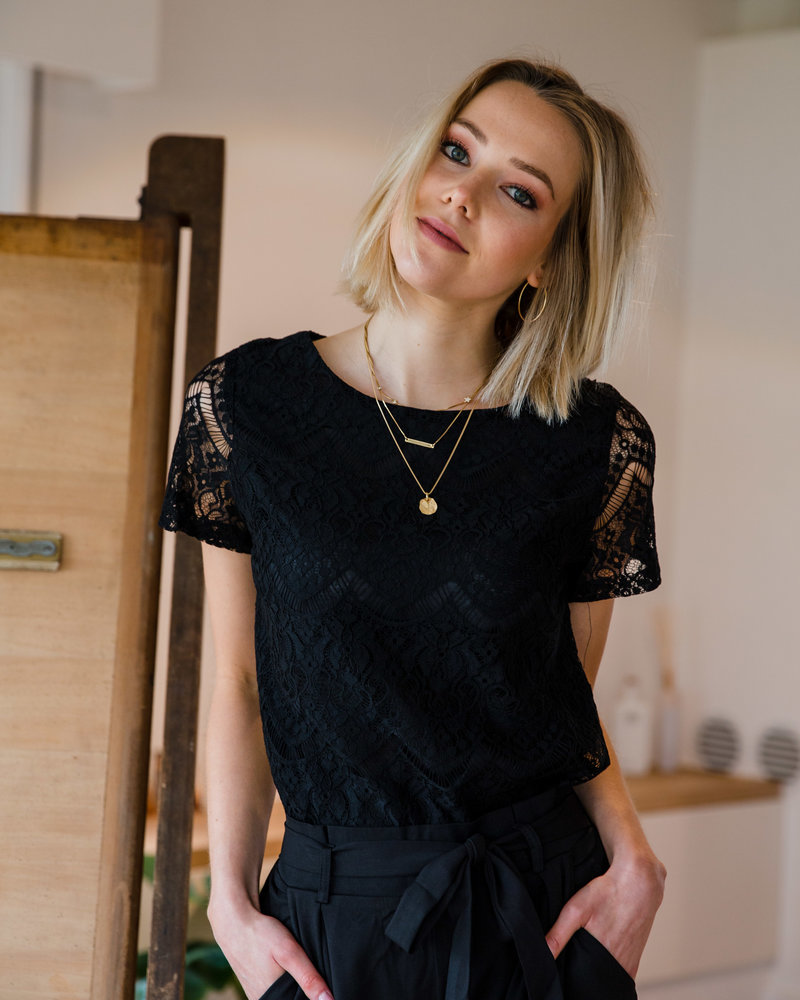 All Lace Black