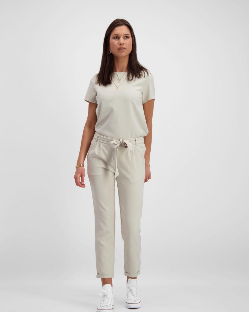Spring Suit Pants Beige