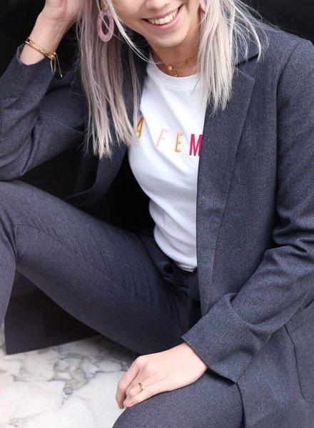 Spring Suit Blazer Antraciet