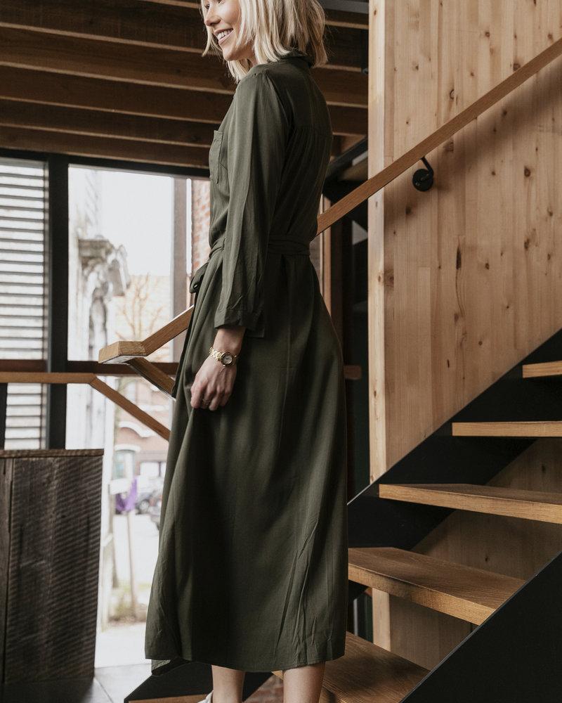 Musthave Day Dress Kaki