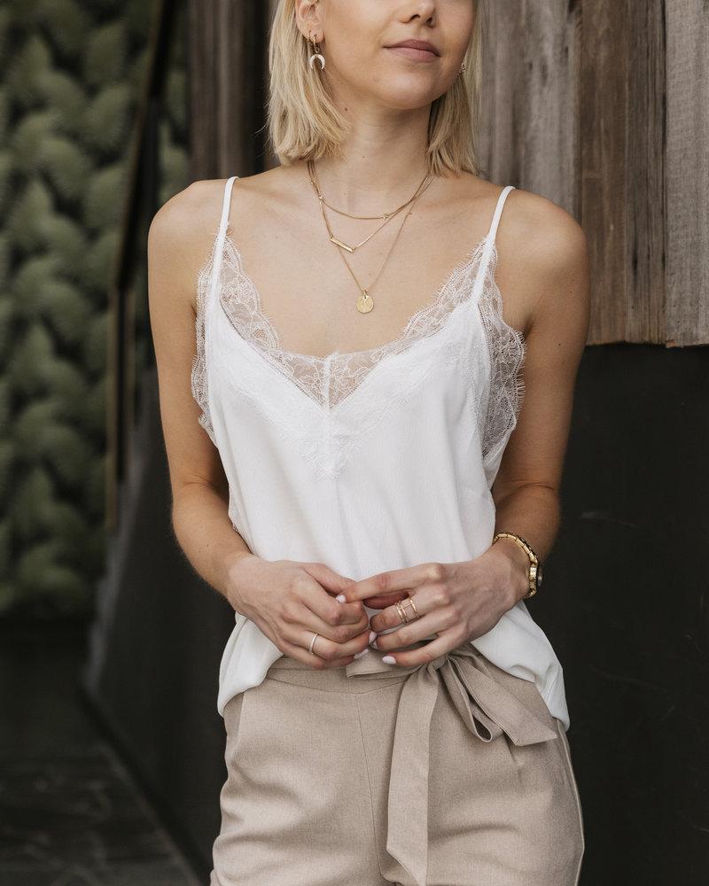 Basic Chic top White