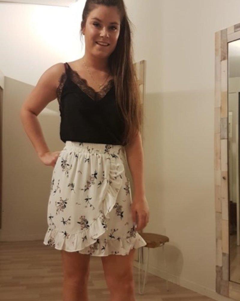 Flower Frill Skirt