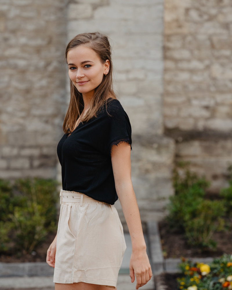 Linen Classy Short Beige