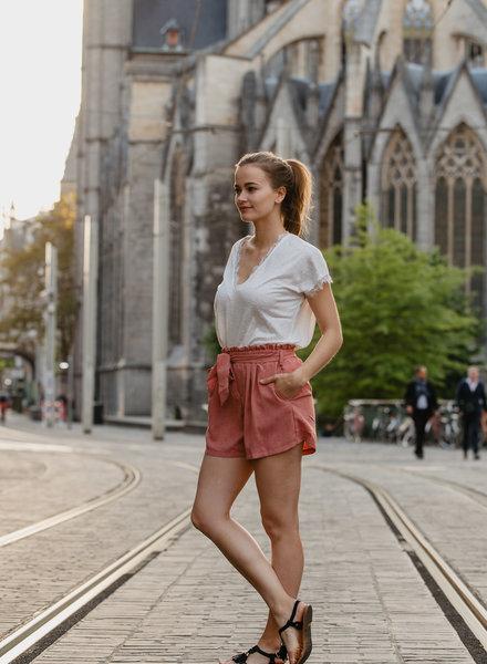 Roze Casual Short