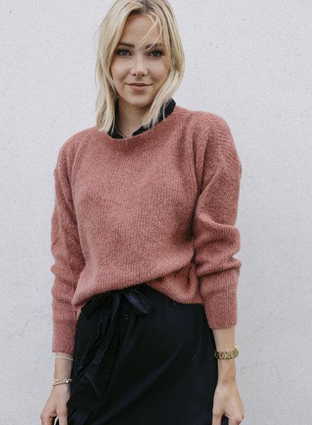 Crop Sweater OldRoze
