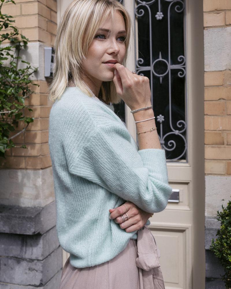 Crop Sweater Mint