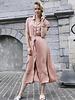 Maxi Collar Dress Roze