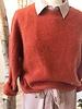Crop Sweater Brique