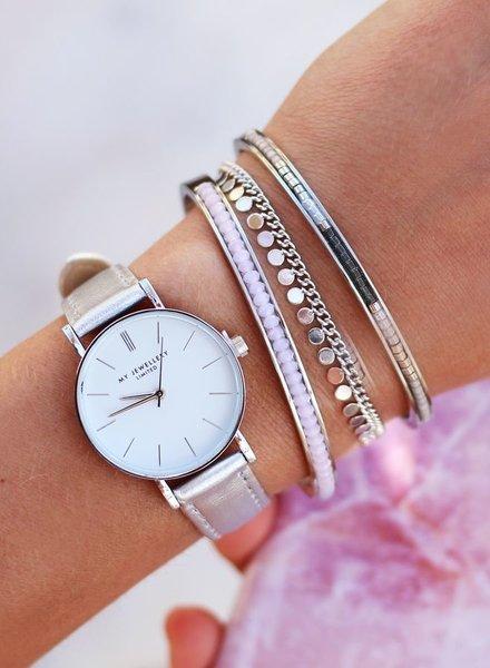 Coin Bracelet Zilver