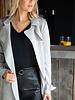 Classic Suede Jacket Grey