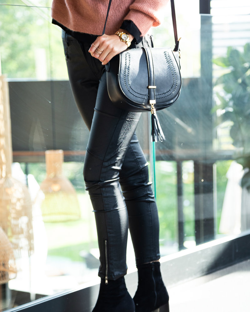 Little Tassle Black Bag