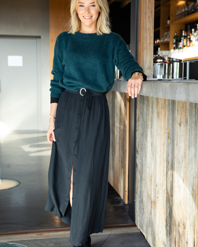 Crop Sweater Green