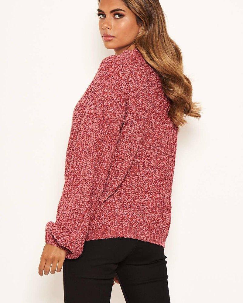 Chenille Jumper Pink