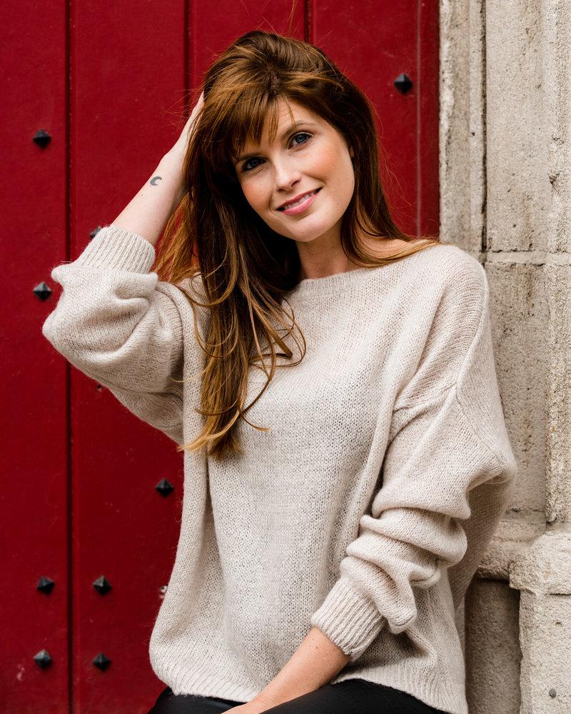Perfect Basic Sweater Beige