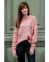 Crochter Sweater Roze