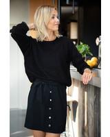 Crop Sweater Black