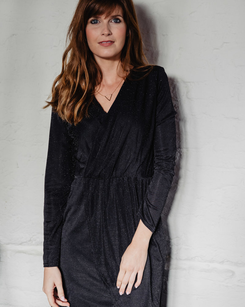 Sparkle Dress Black