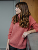 Cosy Collar Sweater Roze