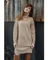 Sweaterdress Camel