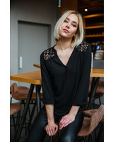 Lace Blouse Long Sleeves