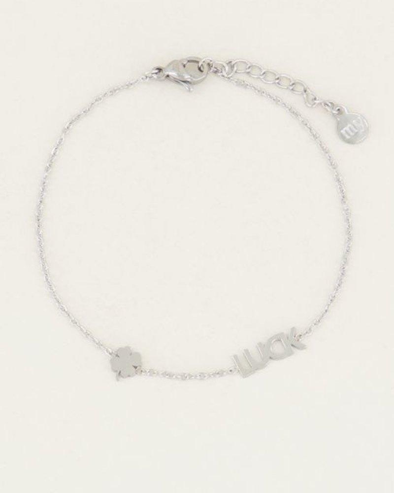 Armband Luck Zilver