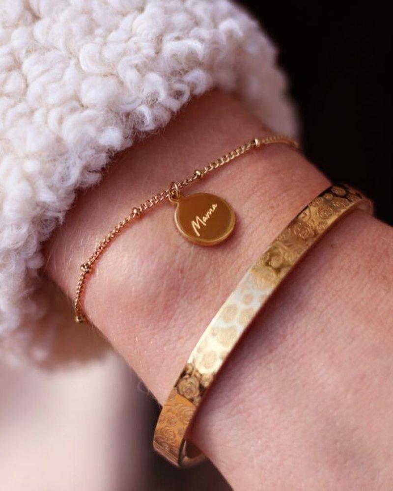 Bracelet Mama Goud