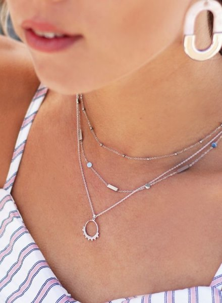 Double Tiny Necklace