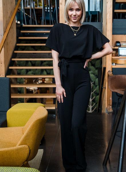 Classy Chic Jumpsuit Black