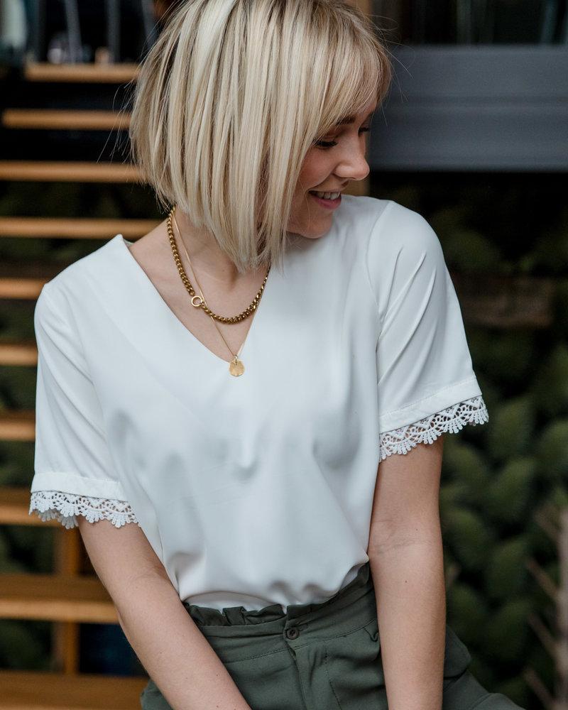 Emma Top White
