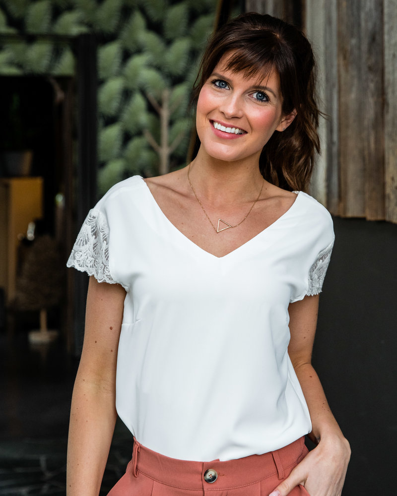 Sofia Top White