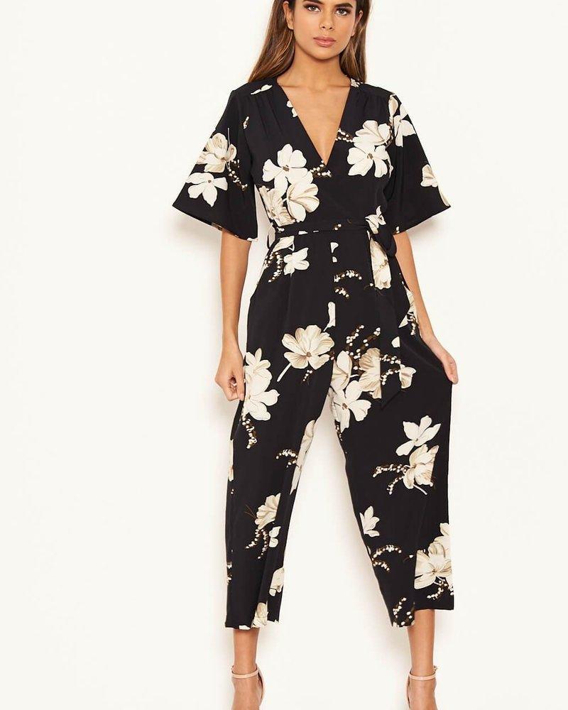 Flower Culotte Jumpsuit